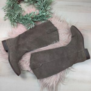 FRYE & Co Tania soft suede riding boots